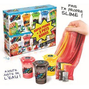 Canal Toys Slime shaker 6 pots : modèle insectes et terrifiant