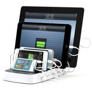 Griffin PowerDock 5 - Comptoir de charge compatible iPad / iPhone / iPod