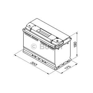 Bosch 0092S50130 - Batterie de démarrage