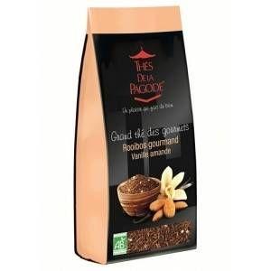 Thés de la pagode Thé Rooibos gourmand vanille amande  - Sachet 110 g