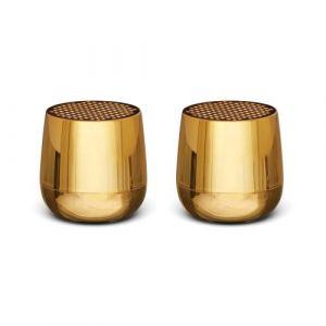 Lexon Twin Mino+ - Metallic Gold - Enceinte sans fil