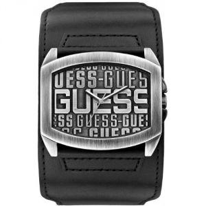 Guess W0360G - Montre pour homme avec bracelet en cuir