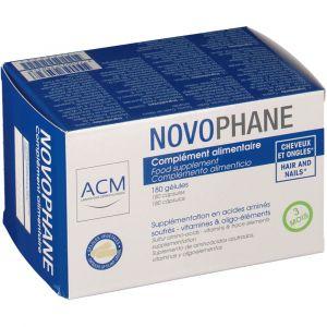 ACM Novophane - Complément alimentaire cheveux et ongles (60 gélules)