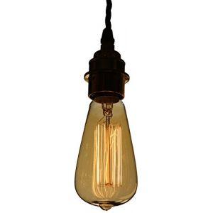 Calex Ampoule à filament vintage 40W or culot baïonnette B22 142mm