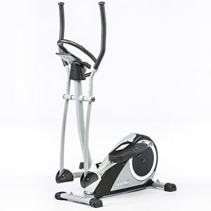Skandika Ares - Vélo elliptique - 6 programmes - 24 Niveaux de résistance - Max.130 Kg - Bluetooth