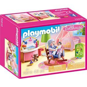 Playmobil Dollhouse Figurine chambre de bébé 70210 multicolore