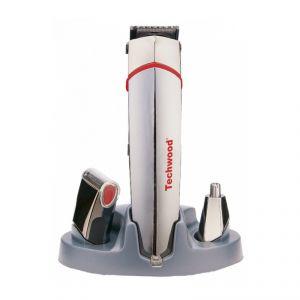 Techwood TTN-900 - Tondeuse 3 en 1 cheveux, barbe et nez rechargeable