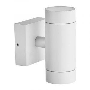 Arum Lighting Applique Blanche VENICE Extérieure double faisceau GU10