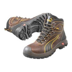 Puma Safety Chaussure de sécurité de chantier, S3 HRO, brune, , 630220, Taille : 45