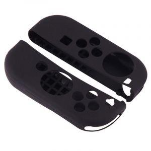 Nintendo Pour Switch Game Bouton Noir Silicone Housse De Protection 2 Pcs