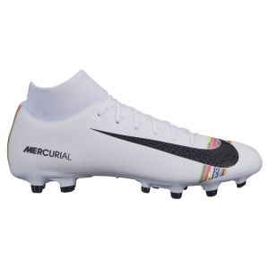 Nike Chaussure de footballà crampons multi-surfaces Mercurial Superfly 6 Academy LVL UP MG - Blanc - Taille 44 - Unisex