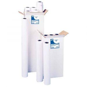 Clairefontaine Papier blanc pour traceur 0,914 x 91m 90g jet d'encre - Lot de 3