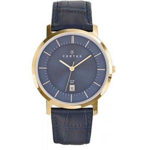 Certus 612363 - Montre pour homme avec bracelet en cuir