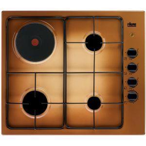 Faure FGM63444TA - Table de cuisson mixte (gaz et électrique) 4 foyers