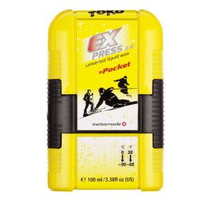 Toko Express Pocket - 100ml jaune Accessoires sports d'hiver