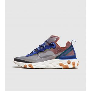 Nike Chaussure React Element 87 Homme Rose - Taille 46 - Male