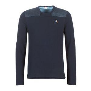 Le Coq Sportif Sweat-shirt Crew Sweat Effet Jean multicolor - Taille XXL,S,M,L,XL