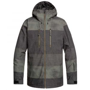 Quiksilver Vestes Silvertip - Grapeleaf Septine - Taille M