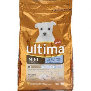 Ultima Croquettes Pour Chat Mini Junior 15 Kg