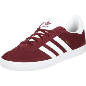 Adidas Gazelle J, Chaussures de Fitness Mixte Adulte, Rouge (Buruni/Ftwbla/Ftwbla 000), 38 2/3 EU