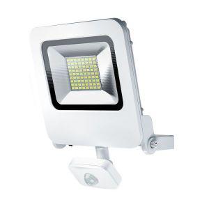 Osram Projecteur Extérieur LED ENDURA FLOOD - Détecteur de Mouvement - Etanche IP44 - 50W - 4000 lumen - Orientable 180° - Blanc chaud 3000K - Blanc