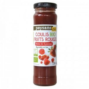 Ethiquable Coulis de fruits rouges BIO 156ml