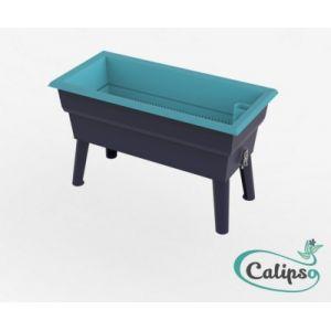 Calipso Jardinière MINI 40 L gris/turquoise
