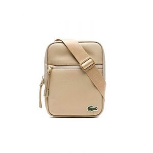 Lacoste Sacoche S Flat Crossover Bag Beige