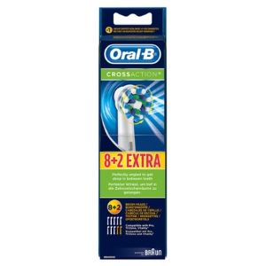 Oral-B 815941 - 8+2 brossettes CrossAction