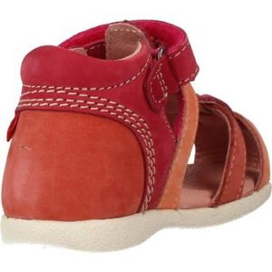 Kickers Babychan, Sandales mixte bébé, Rose (Fuchsia Rose), 24 EU