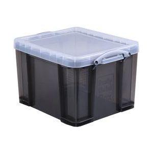 Really useful box 35TSMKCB - Boîte de rangement en plastique 35 litres, en PP recyclé gris