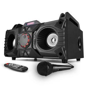 My deejay Enceinte karaoke mobile 200W - USB/SD/BLUETOOTH + Micro - MyDJ Nomad 200