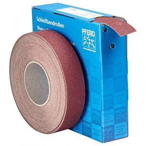 Pferd Rouleau de papier abrasif 45016406 Grain 60 (L x l) 25 m x 38 mm 1 rouleau(x)