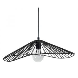 Tosel LADY Lustre - suspension filaire 50x44x13 cm noire E27 40W