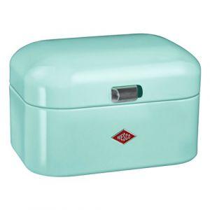 Wesco 235101-51 Single Grandy Boîte de Rangement, boîte à Pain, métal, Menthe, 26 x 18 x 27,5 cm
