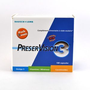 Bausch & Lomb PréserVision - Complément alimentaire