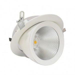 Vision-El Spot Led escargot COB 30W (300W) encastrable orientable Blanc jour 4000°K