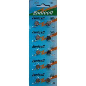 Camelion Button cell AG6 Lot de 10 piles boutons alcalines de type 370/371 compatibles avec les piles G6/LR69/LR921/SR921W