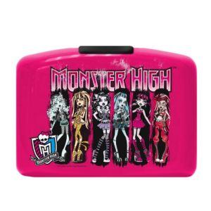 Boite à goûter Monster High personnages