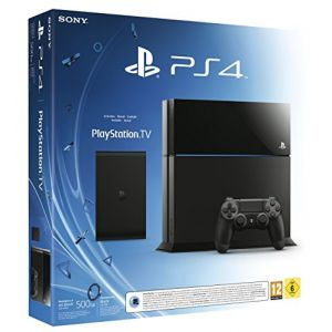Sony Pack PS4 500 Go Noire + PlayStation TV + Voucher