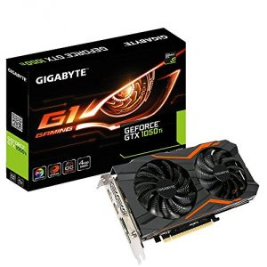 GigaByte GV-N105TG1GAMING-4GD - Carte graphique GeForce GTX 1050 Ti G1 Gaming 4G OC Edition