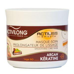 Activilong Actiliss Smooth - Masque soin prolongateur de lissage Argan Bio et Kératine
