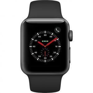 Apple Watch Edition Series 3 (GPS + Cellulaire) - Boîtier céramique bracelet sport 38MM