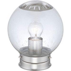 Globo Lighting Luminaire extérieur inox - Verre translucide - Luminaire extérieur - Inox - 60W 230V