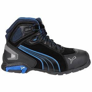 Puma Safety Rio Mid - Chaussures montantes de sécurité - Homme (43 EUR) (Noir)
