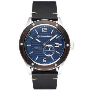 Spinnaker Montre 4894664012372 SP-5067-02 - SORRENTO Automatique Cadran Bleu Homme