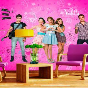 Papier peint XXL Violetta Disney Channel (270 x 360 cm)