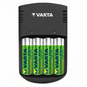 Varta Easy Energy chargeur d'accus + 4 AA 2100 mAh (R6)