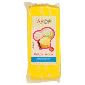 FunCakes Pâte à sucre - jaune - 1kg