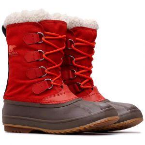 Sorel Chaussures après-ski 1964 Pack Nylon - Rust Red / Cordovan - Taille EU 44 1/2